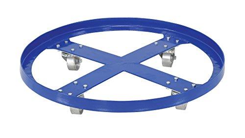Vestil DRUM-SP-28-12-C Steel Overpack Drum Dolly, 1200 lbs Capacity, 28'' ID x 28-3/8'' OD by Vestil (Image #3)