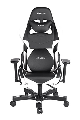 41zoMUGOkTL - Clutch-Chairz-Crank-Series-Charlie-Gaming-Chair-BlackWhite