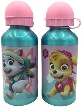 ML Botella de Agua de Aluminio, cantimplora Aluminio a Prueba de Fugas sin BPA para Levar a la Escuela y Deportes 450ml