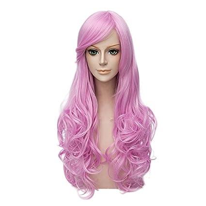 cosplaymix Color Rosa 65 cm Lolita de pelo cabello Mujer ...