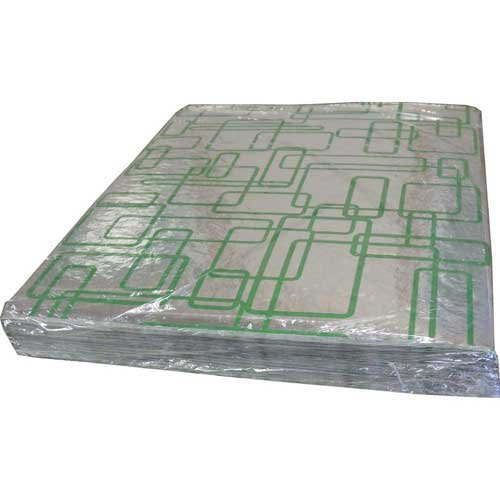 Handy Wacks Green Rectangle Foil Sheet, 500 Sheets per pack -- 5 per case. by Handy Wacks
