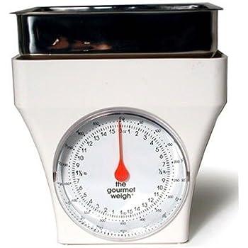 Amazon Com Metrokane Gourmet Weigh Kitchen Scale With