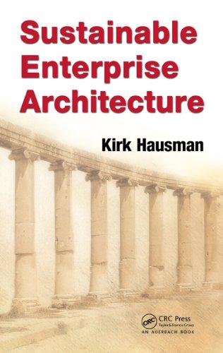 Download Sustainable Enterprise Architecture Pdf
