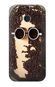 S0690 John Lennon Coffee Case Cover for HTC ONE M8