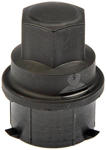 Dorman 711-024 Black Wheel Nut Cover - M24-2.0, Pack of (Pontiac Lug Nut Covers)