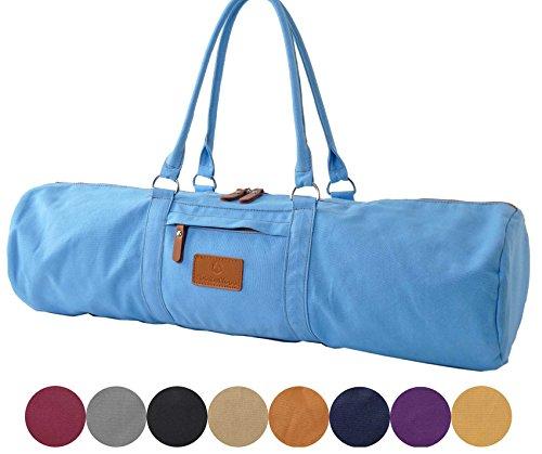 #DoYourYoga Yogatasche »Damayanti Segeltuch gefertigt/Tasche für Yogamatten- und Pilatesmatten bis zu Einer Größe von…