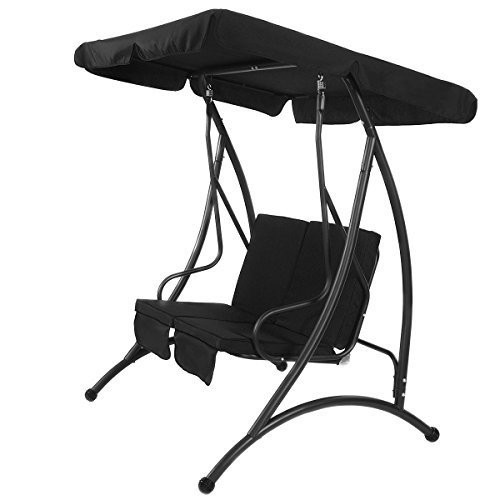 Hunter Green Swivel Bar Stool - Black Swing Hammock Chair Patio 2 Person Seat With Canopy Outdoor Furniture With Ebook