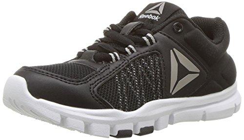 Reebok Baby Yourflex Train 9.0 Sneaker, Black/Skull Grey/...
