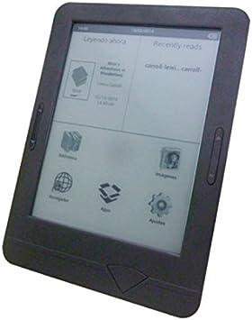 Szenio 1600DC lectore de e-Book Pantalla táctil 2 GB WiFi Negro ...