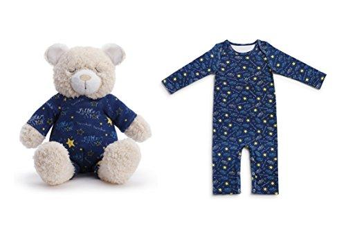 Demdaco Baby Pajama Gift Set  Twinkle Twinkle Little Star Bear
