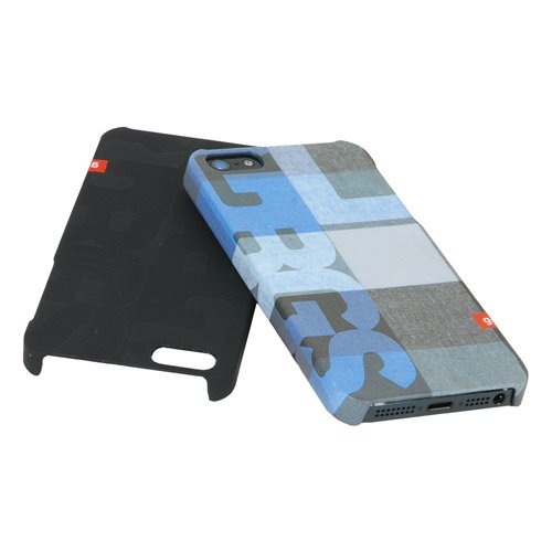 Golla Hardcover - BILLY - Blau karriert G1416 Case für Apple iPhone 5