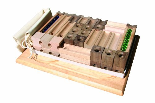 TEDCO Wooden Block & Marble Master Set (Age -