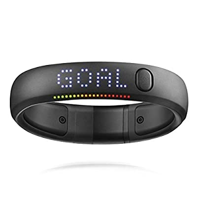 Nike Fuelband SE Fitness band activity tracker bluetooth calorie counter Black