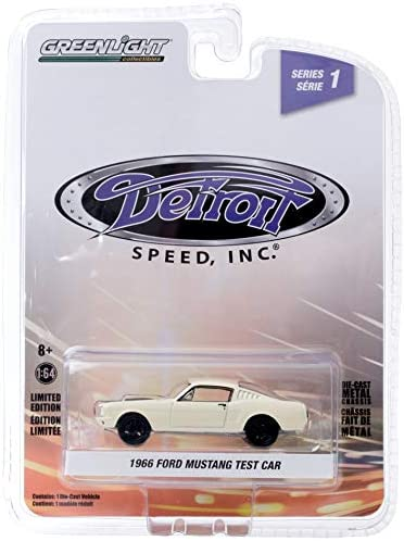 Greenlight 39040-A Detroit Speed Inc. Series 1 - 1966 Ford Mustang Fastback 1:64 Scale