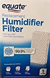 humidifier cool most - Equate Replacement Humidifier Filter for use with Cool Mist Humidifiers for use with EQ2119-UL, ProCare PCCM-832N, ReliOn-RCM-832 & 832N, Robitussin DH-832, Duracraft DH-830, SS SH100&SH200