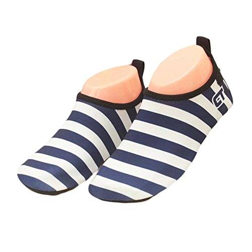 Indoor Soft Sock Shoes Beach Shoes Kids Sports Dark Shoes Shoes Blue Shoes Water Shoes 86TYRwq