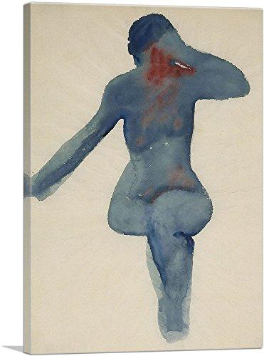 ARTCANVAS Nude Series VIII 1917 Canvas Art Print by Georgia O-Keeffe- 40