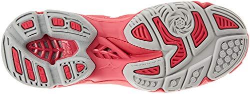 Zapatillas Mizuno Wave Rosa Mujer Wht Azalea Camelliarose para 001 Lightning Z4 qrtxdwTfr
