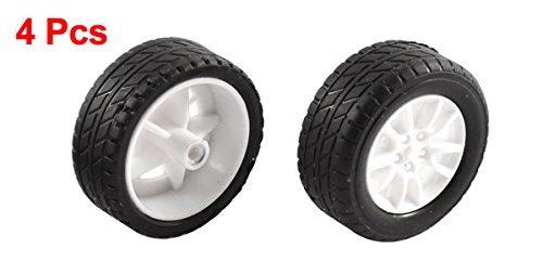 Sourcingmap/® gomma rotola 2/mm diametro albero auto camion modello giocattoli ruota 30/MMX11/MM 4PZ