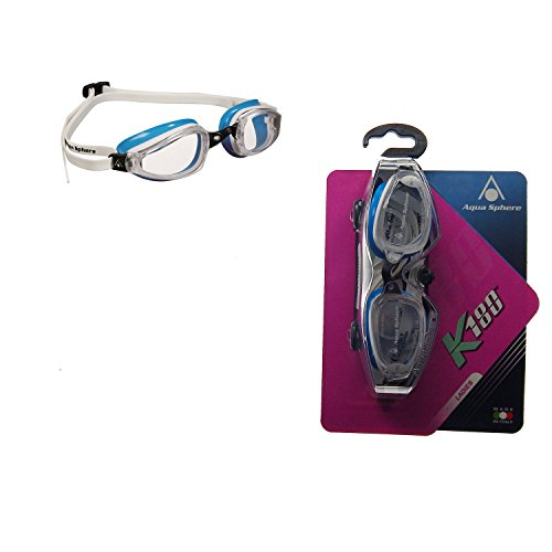 MP Michael Phelps K180 Women Goggle Clear Lens White/Baia