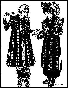 Patterns - Folkwear #118 Tibetan Panel Coat
