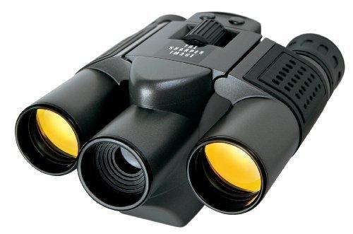 The Sharper Image 10x25 Camera Binoculars