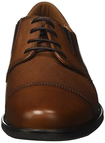 LLOYD Know Extra-Weit, Scarpe Stringate Derby Uomo Marrone (Noce 3)
