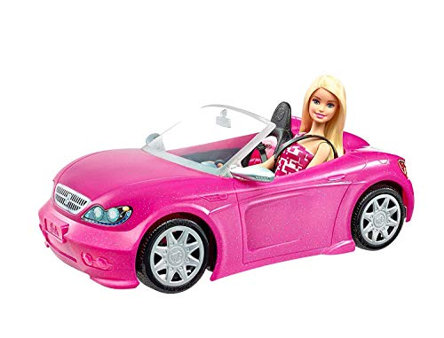 Barbie Convertible & Doll Pack, Pink