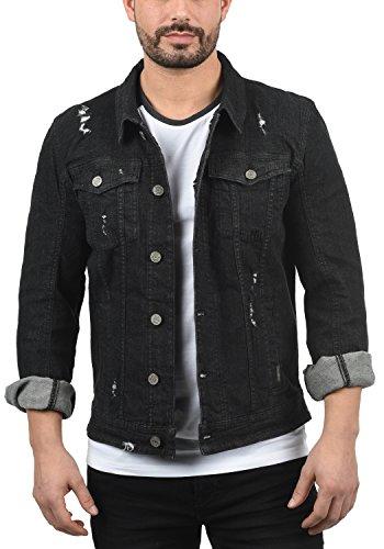 Veste Blend En Pour Jeans Col Black Homme 70155 Saitz Droit Avec Blouson Jean rgqwIgR