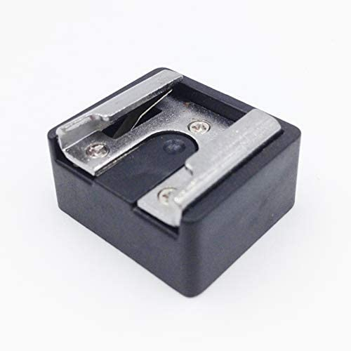 Cold Shoe Mount Standard Adapter 1//4-20 Tripod Screw to Flash Hot Shoe for DSLR Camera Pomya Hot Cold Shoe Mount Adapter