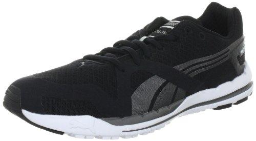 Schwarz course à 1 aged Silver chaussures white de Noir pied S Faas homme 350 Black sport Puma UwqAPA