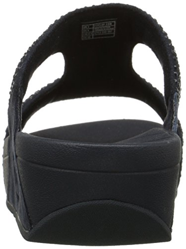FitFlop Rokkit Slide - Sandalias de vestir para mujer Azul (Supernavy)