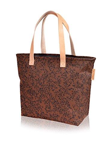 Diseño Speckles Tela Bolsa Y Playa Eastpak De Speckles Color Flask Marrón qY0U44