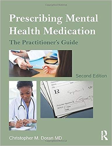 Prescribing Mental Health Medication 9780415536097