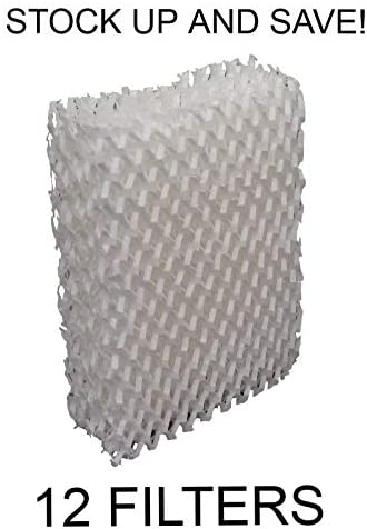 12 Pack Humidifier Filter Wick for Duracraft AC-815 AC-809