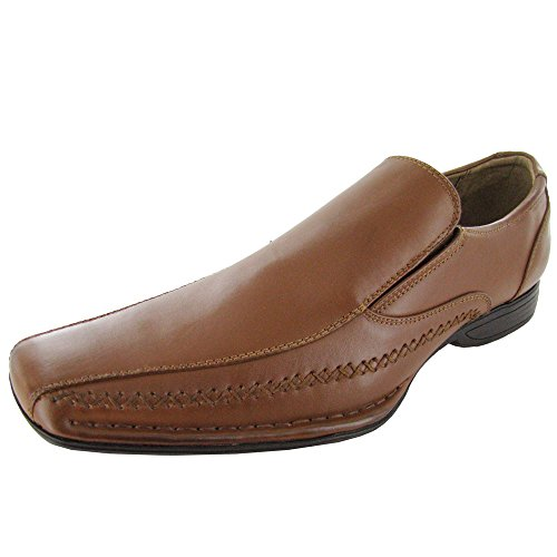 349ce0e2c3a Madden by Steve Madden Mens M-Trace Slip-on Loafer Shoe, Tan, US 13 ...