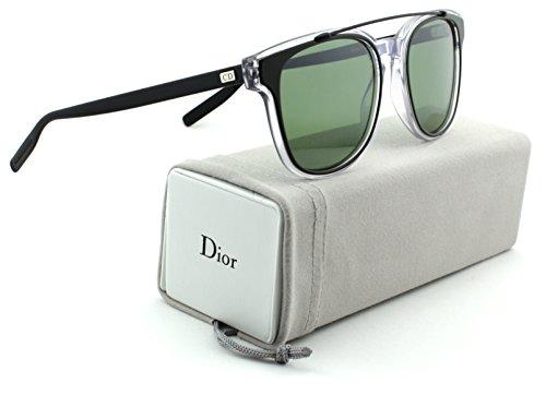 Dior Homme Black Tie 211S Khaki Crystal Black Frame /Green Lens (0LCV)