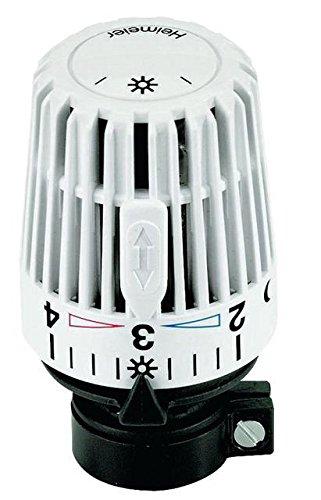 Heimeier K 9700-24.500 Tê te de thermostat pour sortie droite sur Danfoss RAVL Blanc