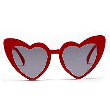 ZJMIYJ Gafas De Sol Corazón Gafas De Sol Mujer Retro ...