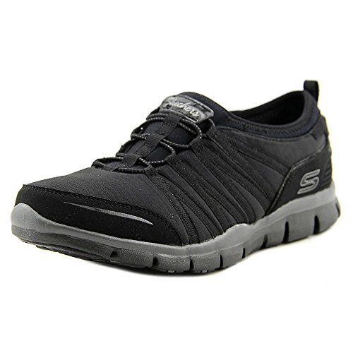 - Skechers Women's Gratis - Shake-It-Off Black 10 B US