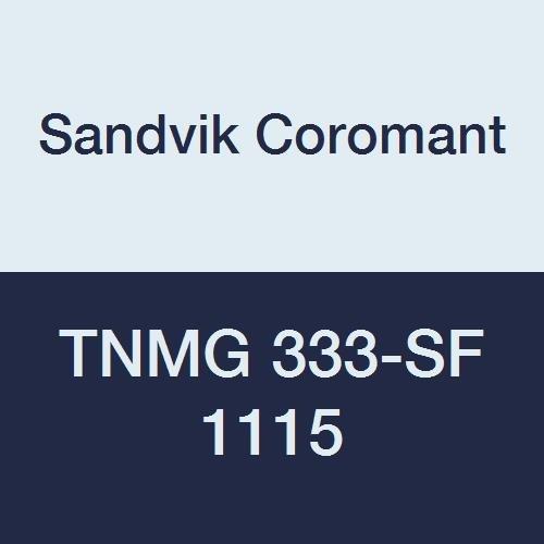 - Sandvik Coromant TNMG 333-SF 1115 Carbide Insert, 0.047