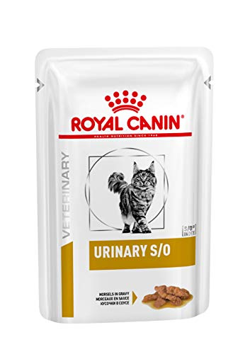 Royal Canin Urinary S/O Katze Morsels in Gravy (Fleischstücke) – 12 x 85 g