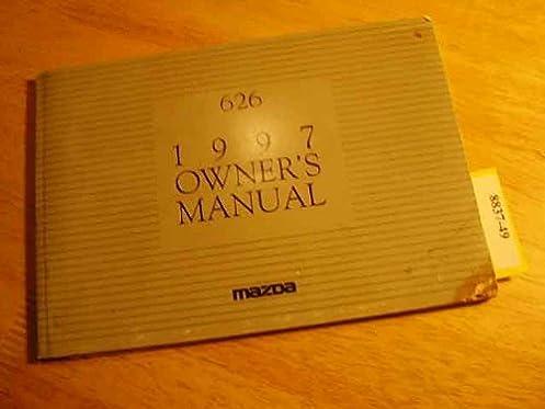 1997 mazda 626 owners manual mazda amazon com books rh amazon com 1997 Mazda 626 MPG 1997 mazda 626 owners manual