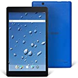 Nextbook Ares 8A, 8'' Android Tablet, 1280 x 800 HD Display Touch Screen, Quad-Core Processor, 2GB/16GB, Black/Blue, Wi-Fi Tablet, M882AAP