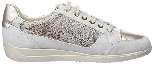 a Mujer White Zapatillas Blanco para Off Geox Myria D qwfEXRxv1O