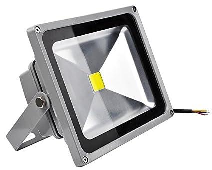 LED Strahler, LED Fluter, 30 Watt Warmweiss LED Flutlicht, 30W 2100 Lumen Ersetzt 300 Watt, 220-240V, PREMIUMLUX