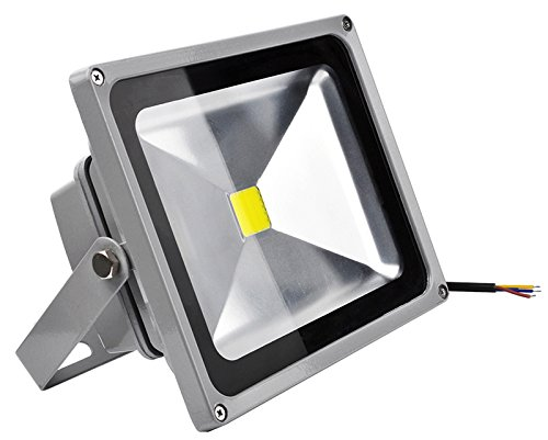 30W LED Foco Proyector,ALPHA DIMA IP65 Impermeable Luz de ...