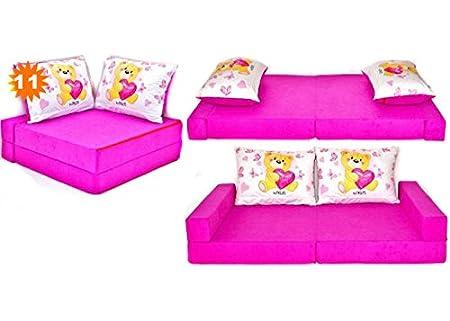 Canapé bebe enfant multifunction sofa lit 3en1 (136x80cm) (1) Welox