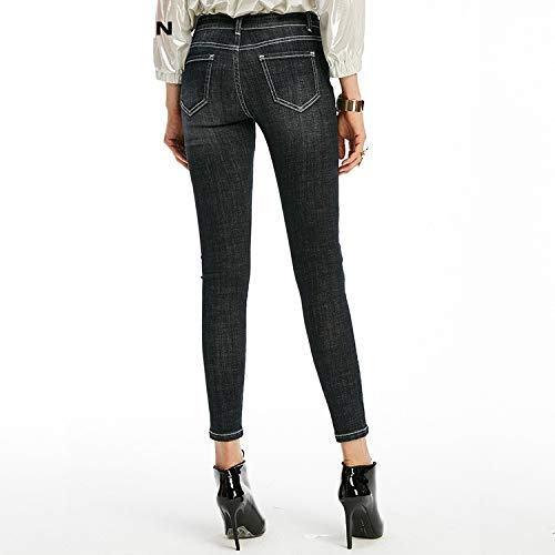 Cent mit in Jeans MVGUIHZPO Hosen Jeans schlanken chern 9 Femme Jeans Jeans M Engen L 7agqttwC