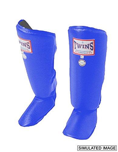 Twins Special Classic Shin Guard (Blue) (Medium)